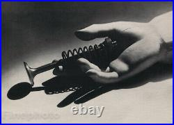 1931 Original MAN RAY Still Life Dummy Hand And Spring Vintage Photo Gravure Art