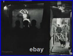 1955 Vintage ROBERT DOISNEAU Wanda Dancer Stage Costume France Photo Art 11x14