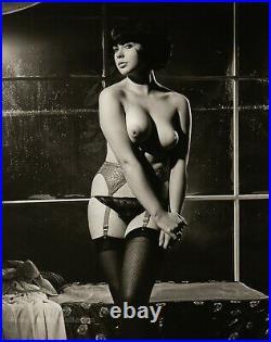 1962 Original Female Nude U. K. Glamour RUSSELL GAY Vintage Silver Gelatin Photo