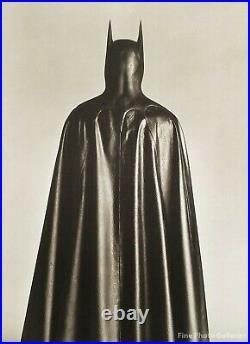 1988 Vintage BATMAN By HERB RITTS Michael Keaton Movie Costume Photo Art 16x20