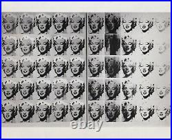 Andy Warhol Marilyn Original Vintage 1962