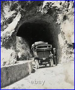 Antique 1910 Photograph Lot Album Egypt Venice Pompei Norway Wales Vintage WW1