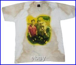Green Day RARE Vintage Dookie Photo T Shirt XL Insomniac 90s Punk Distressed