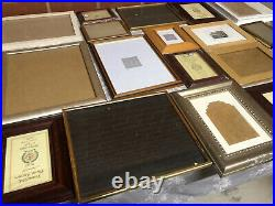 Job Lot Vintage & New Photo Picture Frames Feature Gallery Wall 24 Frames