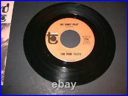 Pink Floyd US 45 Single See Emily Play NM with NM Picture Sleeve 356 Tower Records