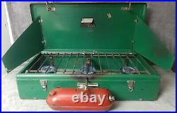 READ WORKING Vintage 1961-1964 Coleman Model 426C 3-Burner Camp Stove See Photos