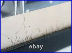 Royalty Signed Antique Presentation Photograph Document Autograph Prince Philip