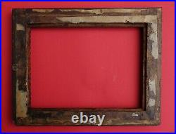 TRAMP ART PICTURE FRAME 19th century (# 14142)