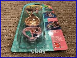 Vintage Polly Pocket Pretty Picture Locket Necklace Artist Paint